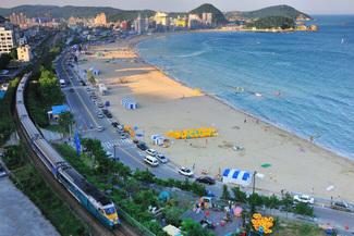 Du lịch Hàn Quốc - Bãi biển Songjeong
